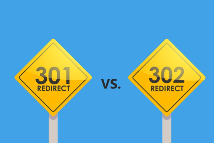 انتخاب ریدایرکت 301 یا 302