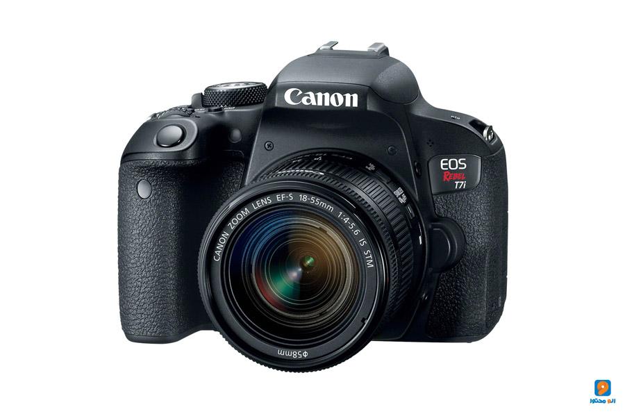 تولید محتوا با دوربین فیلمبرداری Canon EOS Rebel T7i