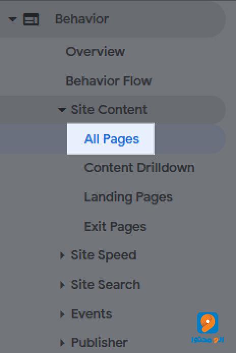 نشان دادن بانس ریت در all pages